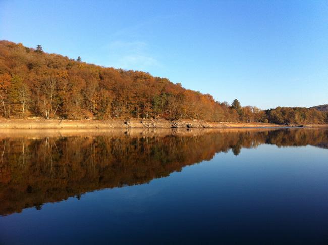 Lac du Crescent en automne